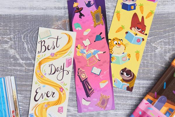 diney bookmarks
