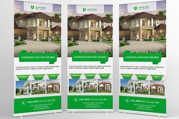 downloadable real estate rollup banner