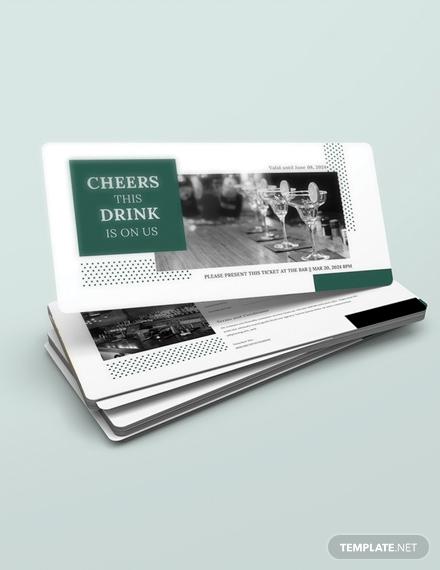 drink voucher