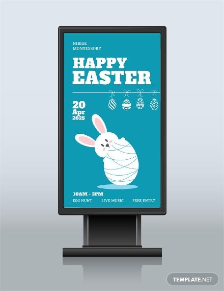 easter digital signage