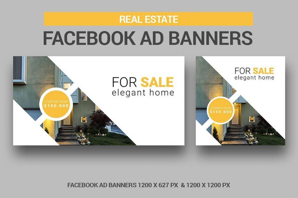 editable real estate banner facebook ad 1024x681