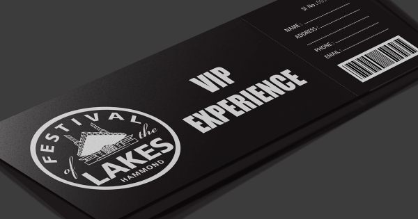electronic vip experience ticket