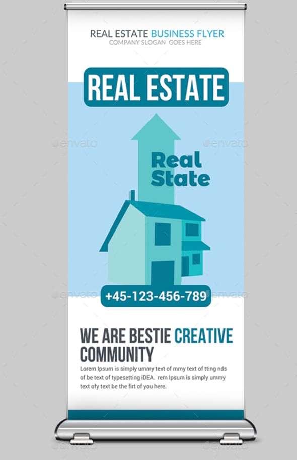 elegant real estate rollup banner