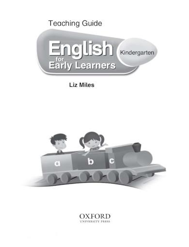 english kindergarten lesson plan