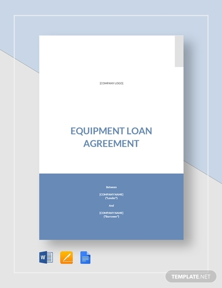 equipment loan agreement 21