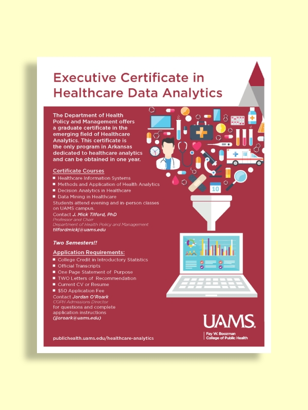 executive certificate in healthcare data analytics