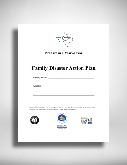 family disaster action plan1