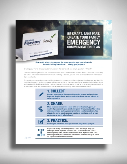 family emergency communication action plan1