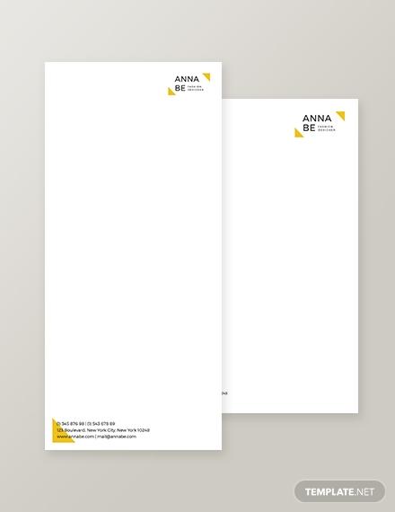 fashion designer envelope1