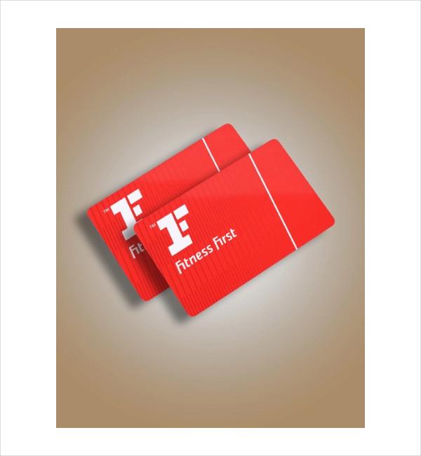 fitness first membership card1