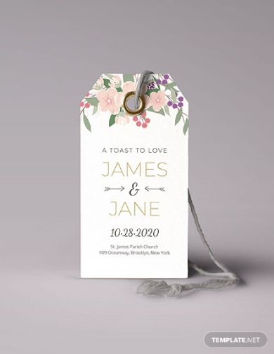 floral wedding tag1