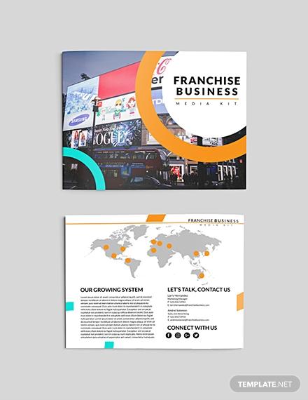 franchise business media kit
