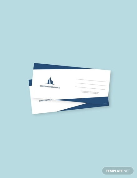 free architecture envelope template