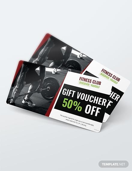 free gym discount voucher