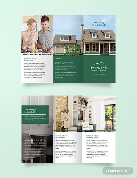 free multipurpose brochure template 1x