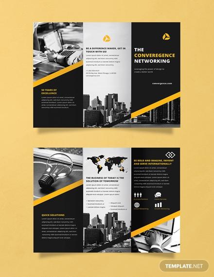 free professional brochure templat 1x