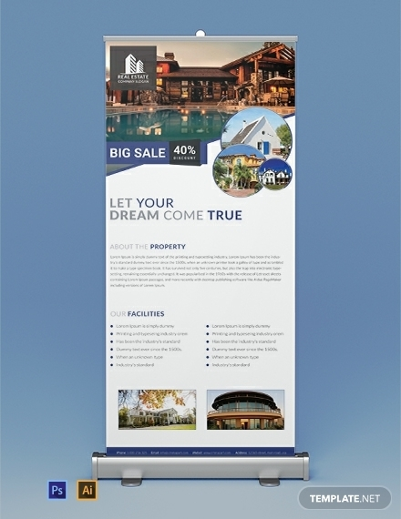 free real estate rollup banner