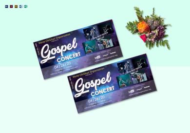 gospel concert ticket