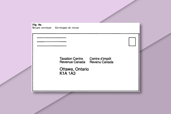 government of canada envelope