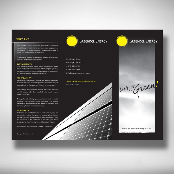 greendel energy company brochure