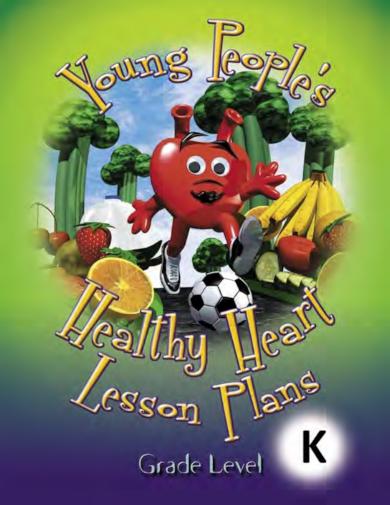 healthy heart kindergarten lesson plan