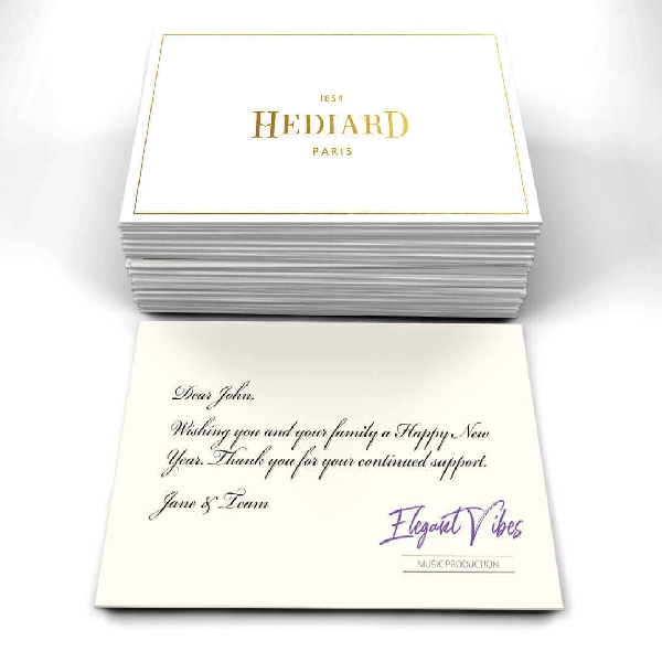 hediard brand greeting card