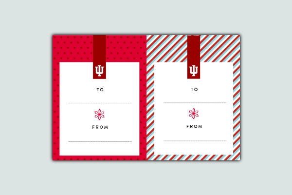 holiday gift tag