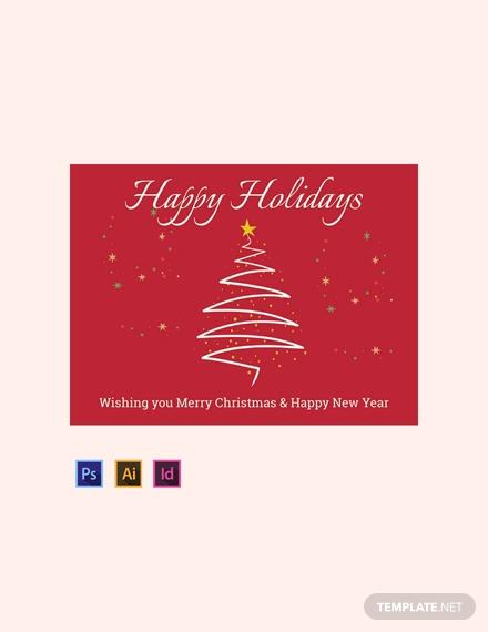 holiday greeting sign