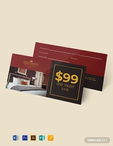 hotel gift voucher 1