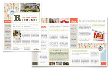 house for sale advertisement newsletter