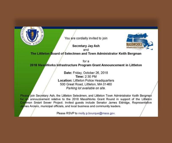 infrastructure program grant announcement invitation1