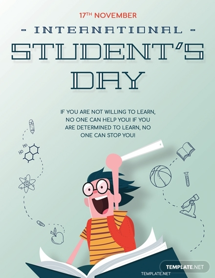 international students day greeting card