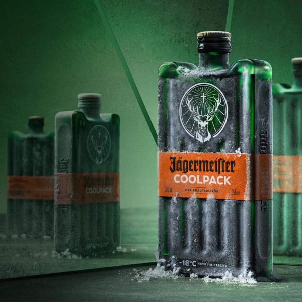 jägermeister coolpack bottle label