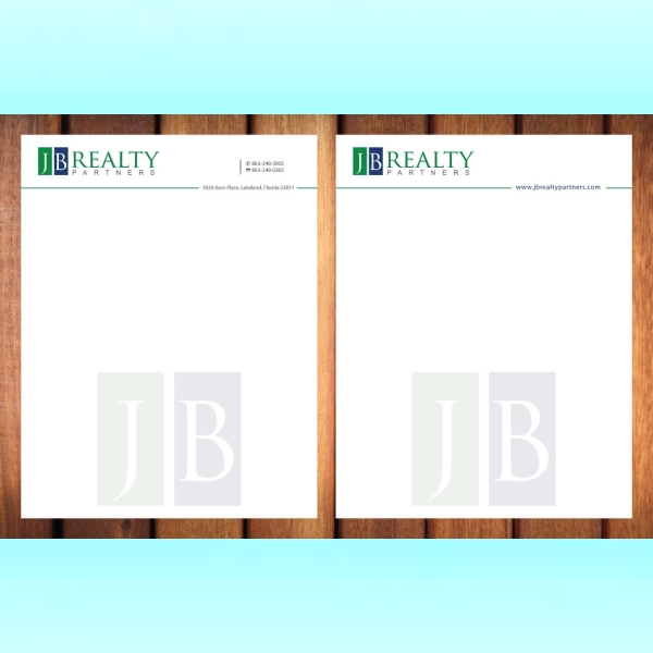 jb realty partners stationery