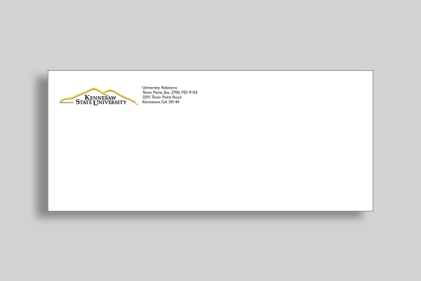 kennesaw state university envelope