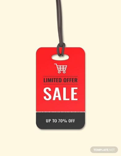 limited offer sale tag