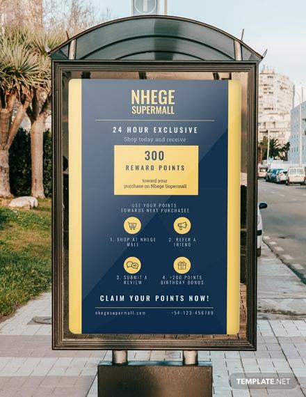 loyalty program digital signage