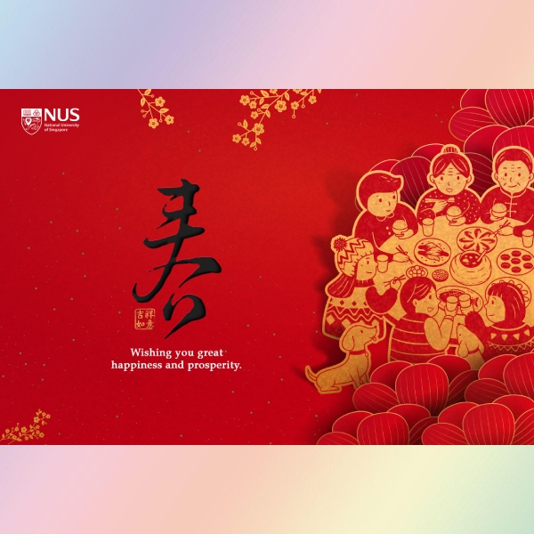 lunar new year greeting card