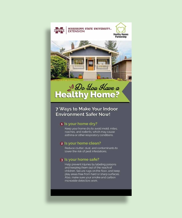 msu extension service healthy homes initiative rack card
