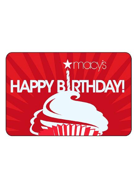 macys birthday e gift card