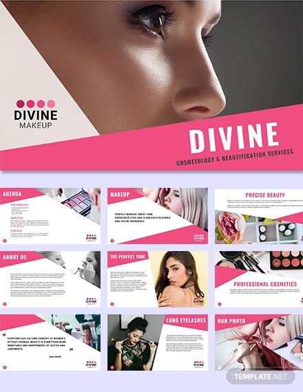 makeup artist presentation