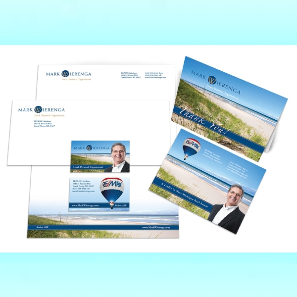 mark wierenga real estate stationery