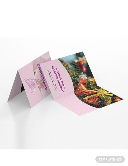 massage greeting card