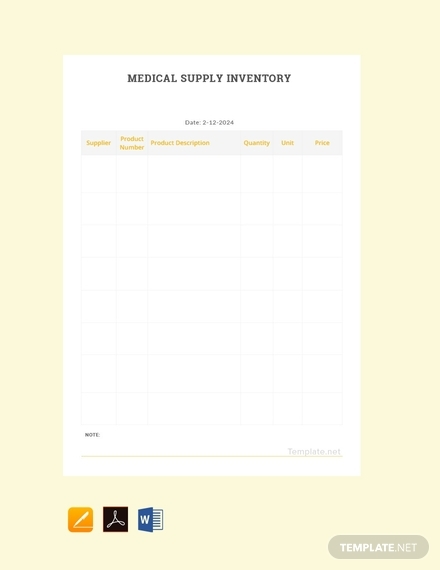 medical supply inventory1