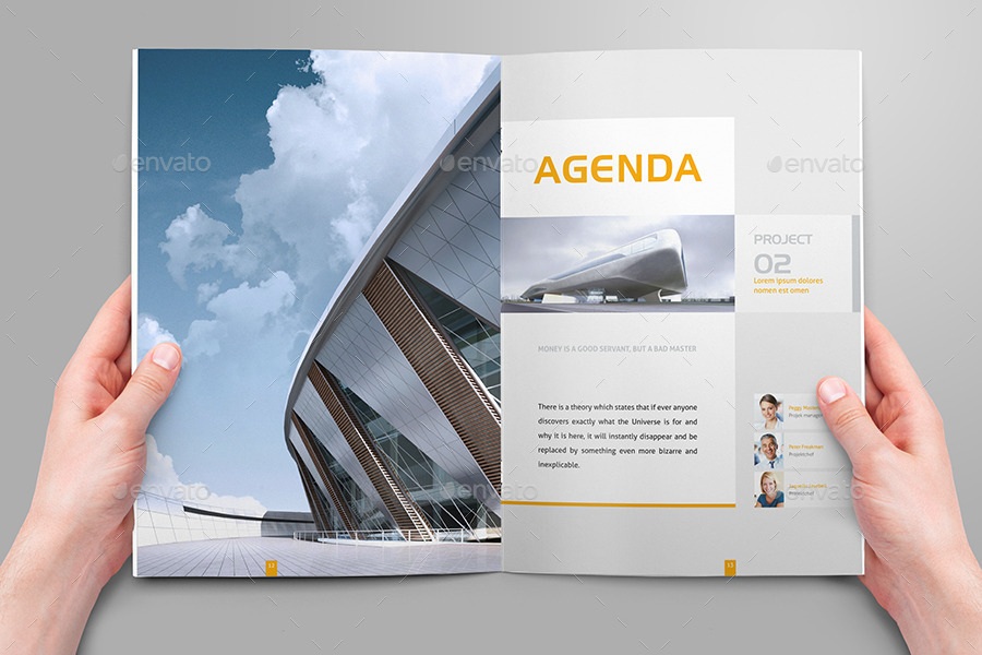 modern real estate sales brochure template1