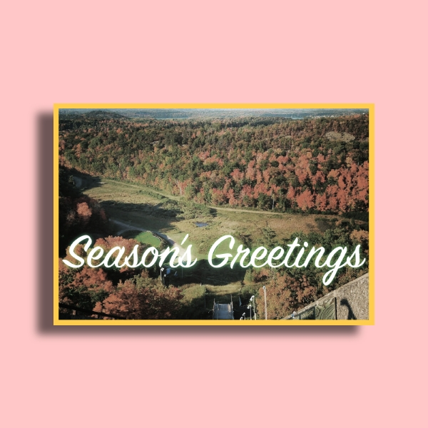 nmu seasons greeting card