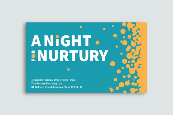 nurtury learning lab postcard