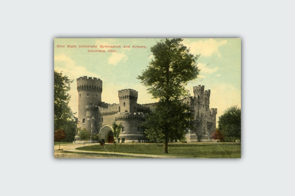 ohio state university postcard