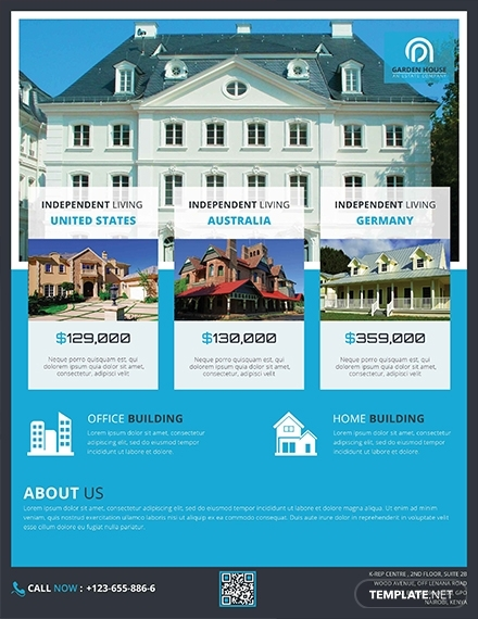 owner house for sale advertisement template1