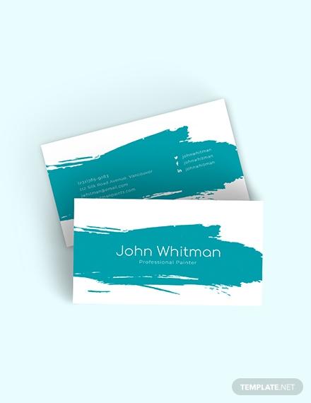 painter business card2